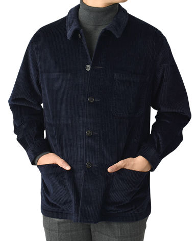 VINTAGE IVY/コーデュロイシャツジャケット