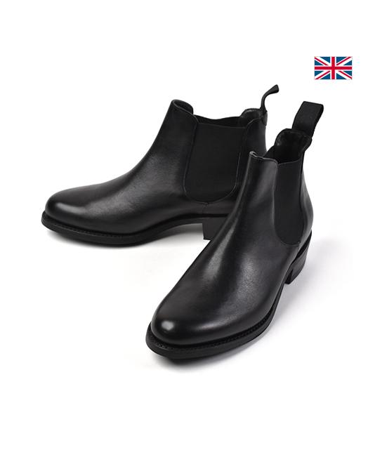 BARKER レザーSide Gore 皮靴