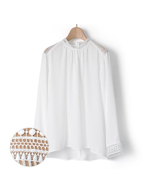 立领blouse