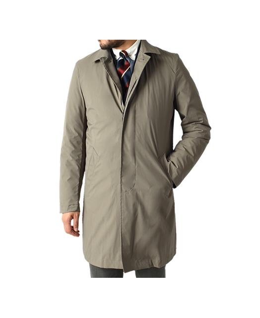 羽绒防雨大衣