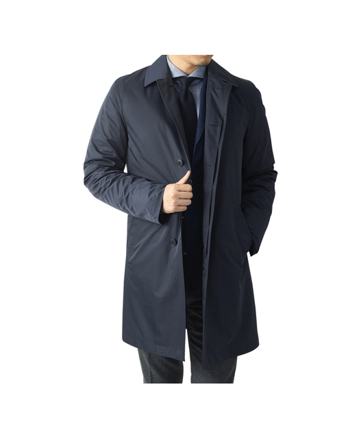 可拆卸鸭绒防雨大衣