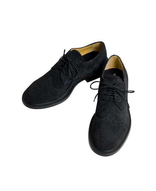 Wing tips suede皮鞋