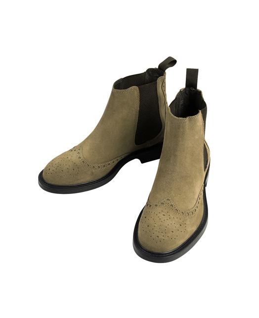 Side Gore 皮靴