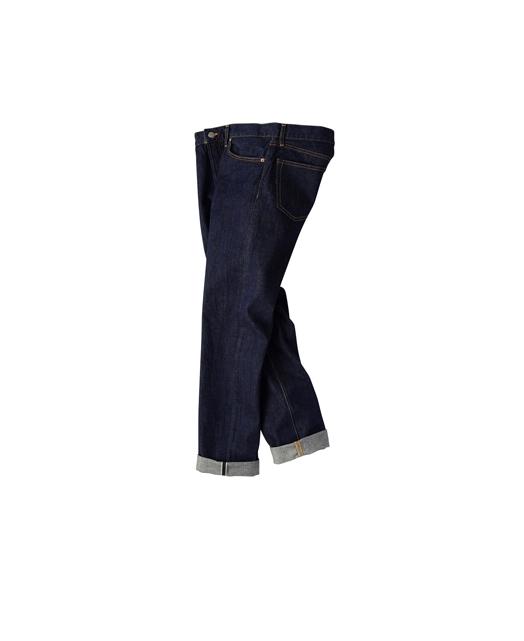 复古牛仔裤