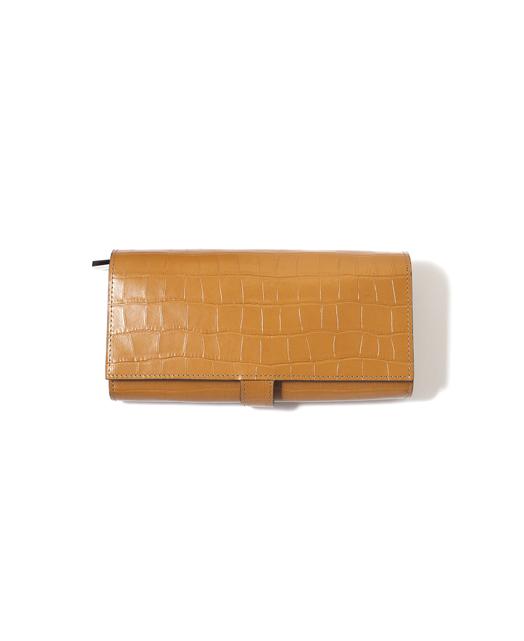 Snap Button Long Wallet