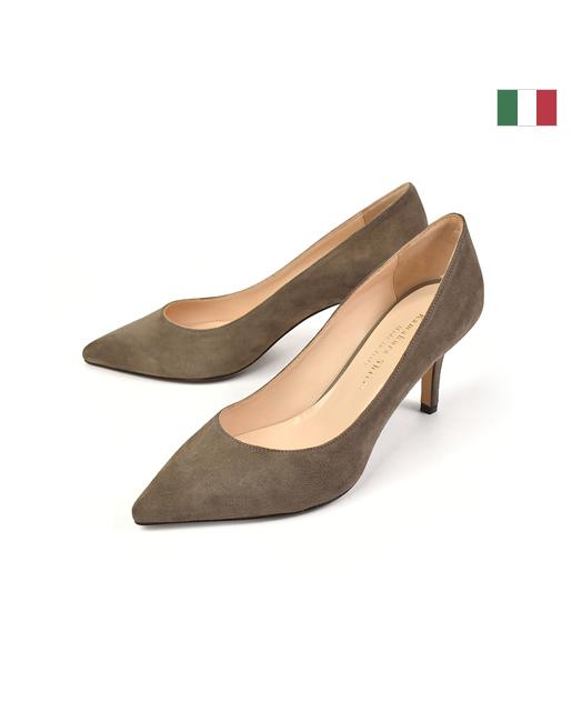 意大利牛皮高跟鞋