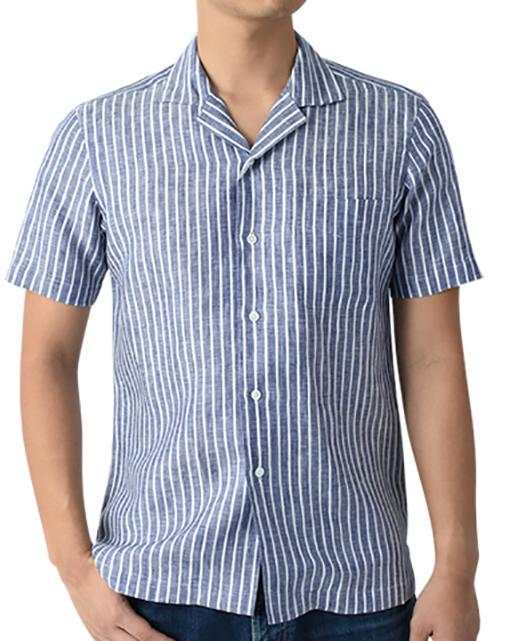 LINEN SHIRT - Short Sleeve