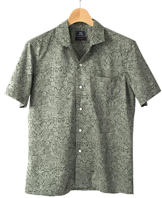 短袖衬衫(开领)