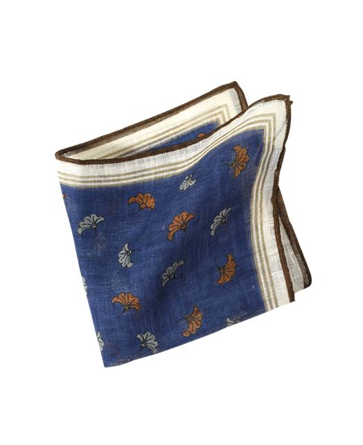 亚麻口袋方巾