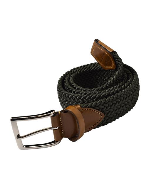 伸缩针织皮带