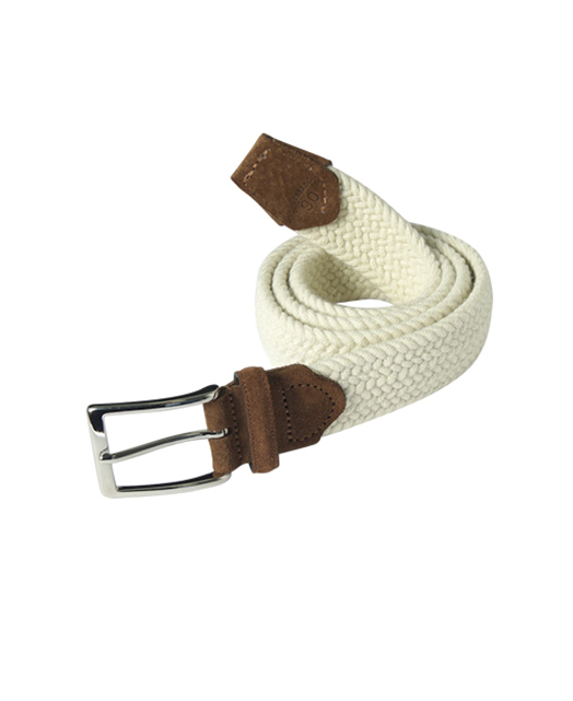 SilverClub羊毛编织皮带