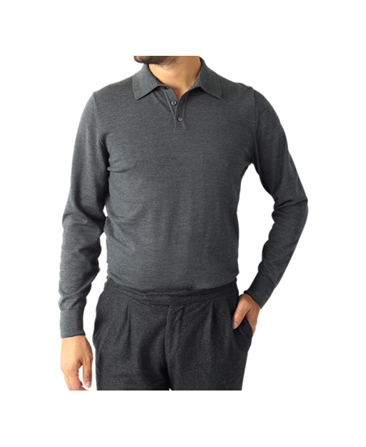 30G 羊毛针织短袖POLO