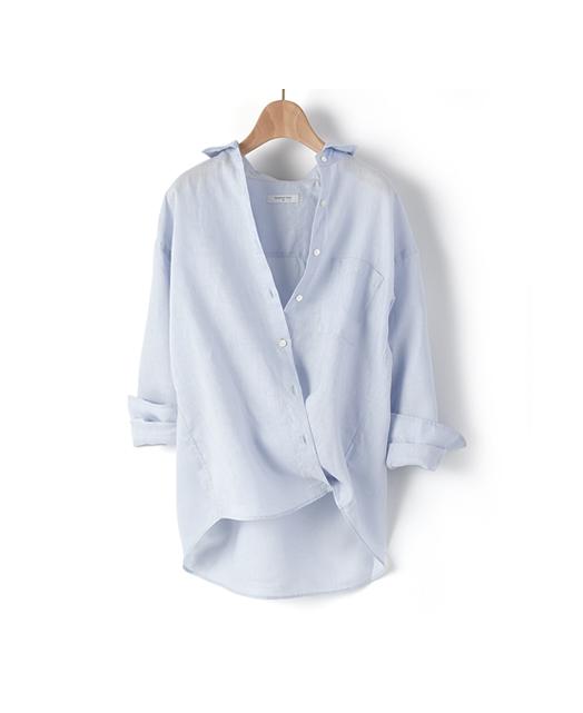 2段可调节休闲衬衣