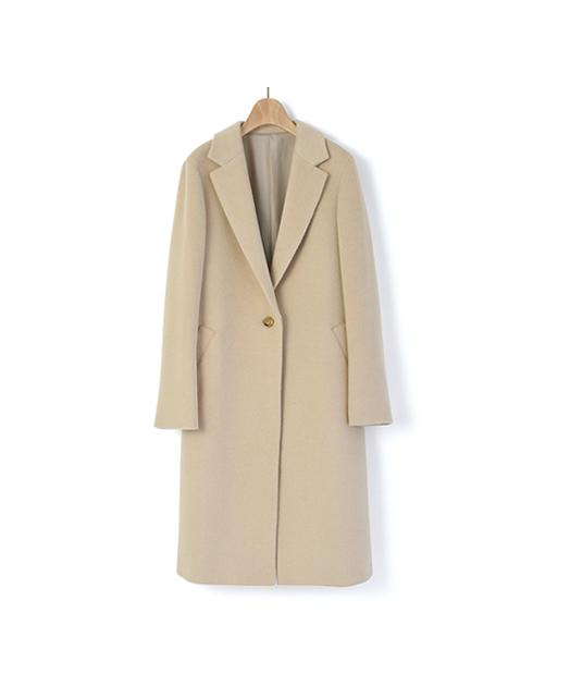 驼毛女士长款大衣