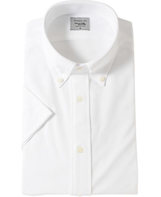 TRAVELER 短袖针织衬衫