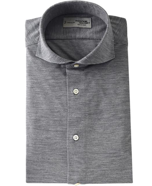 Wool Knit Shirt - TRAVELER